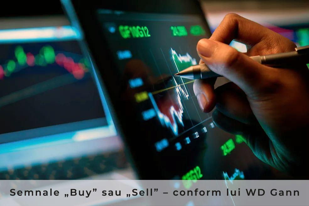 """Semnale """"Buy"""" sau """"Sell"""" în crypto conform teoriei lui WD Gann"""